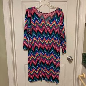 Lilly Pulitzer Chevron Dress